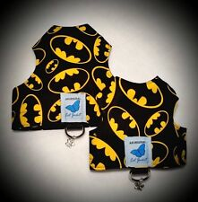 Butterfly Cat Jackets - Walking Harness Jacket Super Hero Marvel DC patterns