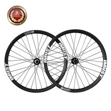 IMUST Carbon 29er All Mountain Bike Wheelset 40mm Wide Clincher Tubeless Ready