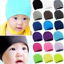 NEW Unisex Baby Cap Beanie Boy Girl Toddler Infant Children Cotton Soft Hat HS