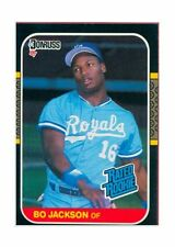 1987 Donruss Bo Jackson Kansas City Royals #35 Rookie Card