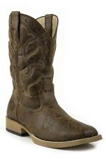 Roper Mens Scout Wide Square Toe Western Boot