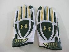 NEW Under Armour South Florida Bulls - White/Green Gloves (Multiple Sizes)