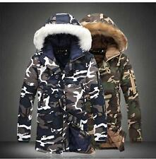 Jacket Coat Fur Hood Cotton Outwear Parka New Fashion Hot Size Winter Warm