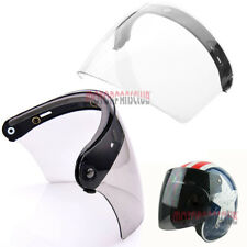 AU STOCK Helmet Visor 3-Snap Flip Up Visor Face Lens Wind Shield Motorcycle Lens