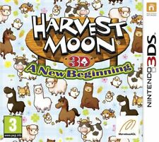 HARVEST MOON A NEW BEGINNING NINTENDO 3DS GAME - BRAND NEW AND SEALED
