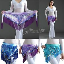 Beautiful NEW Belly Dance dancing Waist Chain Hip Scarf Belt Skirt Wrap Costume