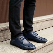 Plus velvet solid color men shoes lace-up men casual shoes warm peas shoes