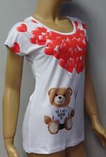 ''ON SALE'' NEW MOSCHINO T SHIRT BLOUSE TOP sz - 36/S; 38/M; 40/L; 42XL;