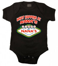 What Happens at Nana's Baby Bodysuit