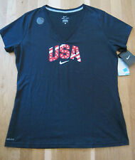 Nike Limited  TEAM USA 2016 Olympics Dri-Fit Women's V-Neck Authentic Nike