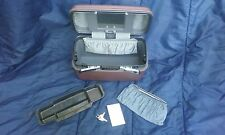 Samsonite Silhouette 4 Locking Cosmetic Makeup Jewelry Case Made in USA 1987