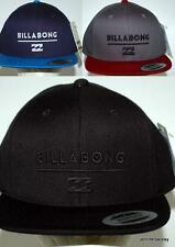 Billabong CAP Hat NEW Mens SYSTEM FLAT blue stealth char BRIM Skate Surf  1Sze