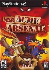 Looney Tunes ACME Arsenal (Sony PlayStation 2, 2007) PS2 GAME COMPLETE
