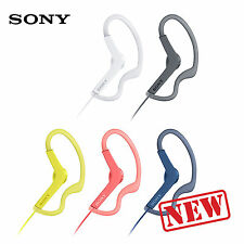 SONY MDR-AS210AP Sport In-Ear Headphones (Black / Blue / Pink / White / Yellow)