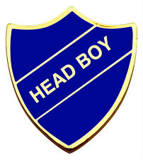 SCHOOL ENAMEL BADGE HEAD BOY SHIELD