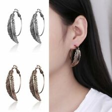 1 Pair Bohemia Personality Women Girl Hook Dangle Leaves Fashion Jewelry Earring