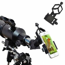 Universal Smart Phone Adapter Mount Monocular Binocular Spotting Scope Telescope