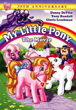 My Little Pony The Movie  DVD * Rare 30 th Anniversary & Fast Shipping