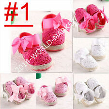 Fashion Flower Baby Girl Shoes Anti-slip Toddler Infant Newborn-18 Months #BS44