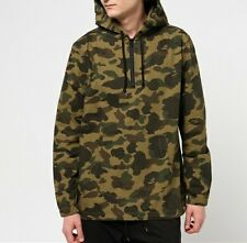A BATHING APE 1ST CAMO HALF ZIP SHIRT HOODIE Bape Men Hooded Jumper From Japan