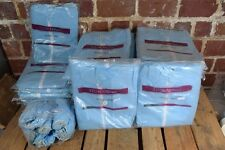 Large Lot of Blue DURAwear Coveralls With Hood 18611 2XL (x7); 3XL (x27);Booties