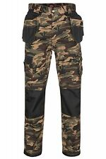 Lee Cooper Performance Workwear Cargo Camouflage Shorts Men Work Trousers