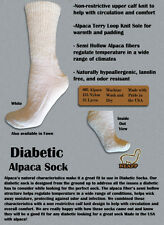 Gentle Touch Diabetic Sock - Sizes Medium, Large & X-Large - Made in the USA