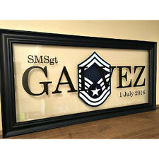 Air Force Personalized Gift,Airforce wall frame,USAF Gift idea MADE IN THE USA!!