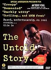 The Untold Story DVD, Special Uncut Ed. Anthony Wong. Serial Killer.