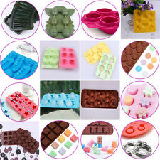 New Mould DIY Mold Ice Maker Freeze Cake Jelly Tray Cube Bar Silicone 40 Styles