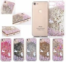 3D Luxury Rabbit Bling Glitter Quicksand Hard Back Case Cover For iPhone 7/7Plus