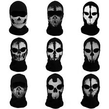 Punisher Mask Balaclava Cosplay Paintball Airsoft Ski Ghost Skull Full Face Mask