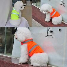 Fluorescent Security Dog Waterproof Reflective Pets Vest Clothes Safety Luminous