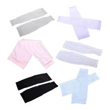 Cycling Sport Basketball Golf Cooling Arm Stretch Sleeve Sun UV Protection Cover