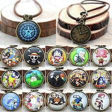 Unisex Retro Anime Necklace Cosplay ONE PIECE Ghoul Tokyo Charm Chain Jewelry