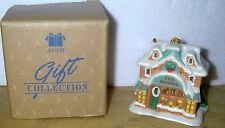 NOS Avon Ornament ~ Snow Frost Victorian Village ~ Light Cover ~ Toy Shoppe