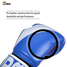 JBM Boxing Gloves Punching Gloves Sparring Gear for Kickboxing MMA TKD 8OZ 12OZ