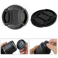 49/52/55/58MM Center-Pinch Snap-on Front Lens Cap Cover for Canon Nikon Camera