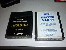 Epyx WINTER GAMES Atari 2600 7800 Sears Tele-games Game Cartridge only no box
