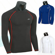 Men Compression Base Layer Tights Tops Shirts Under Skin Long Sleeve Sports Gear