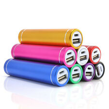 For Mobile Phone 2600mAh Portable External USB Power Bank Box Battery Charger