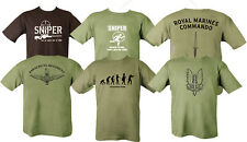 PARA SAS ROYAL MARINE T SHIRT COMBAT MILITARY ARMY SNIPER SPECIAL FORCES T-SHIRT