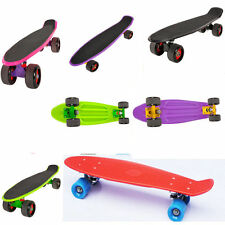 "Mini 22"" Cruiser Retro Skateboard Skate Board Skater Complete Deck UK"