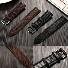 Lizard Grain Genuine Leather Smart Watch Band Strap For Samsung Gear S2 Classic