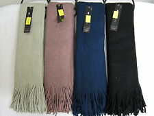 Ladies RJM Accessories Knitted Scarf with Lurex & Fringing Detail GL297