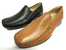 Mens Anatomic & Co Grained Leather Slip On Formal Loafer Shoes Style TAVARES