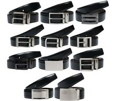 NEW Calvin Klein Belt Men's Leather Belt Belt Black Brown Present box