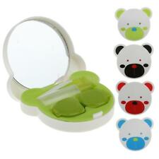 Portable Pocket Mini Contact Lens Case Travel Kit Mirror Container Holder A-5577