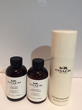 Coach Leather Fabric Moisturizer and Cleaner  4oz 118ml / 6oz 177ml Brand New