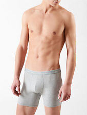 Calvin Klein CK One Men grey cotton stretch boxer brief Underwear size L, XL